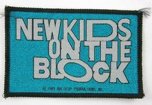 New Kids on the Block - 'Logo Blue' Woven Patch