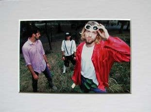 Nirvana - Group Mounted Picture