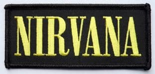 Nirvana - 'Logo' Embroidered Patch