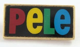 Pele - 'Logo' Lapel Badge