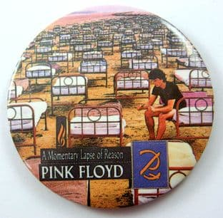 Pink Floyd - 'A Momentary Lapse of Reason' Badge Style Mirror