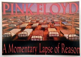 Pink Floyd - 'A Momentary Lapse of Reason' Postcard