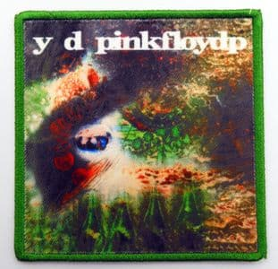 Pink Floyd - 'A Saucerful of Secrets' Printed Patch