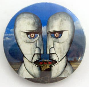 Pink Floyd - 'Division Bell' Large Button Badge