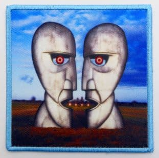 Pink Floyd - 'Division Bell' Printed Patch