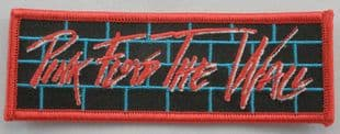 Pink Floyd - 'The Wall' Embroidered Patch