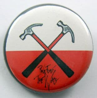 Pink Floyd - 'The Wall - Hammers' 32mm Badge