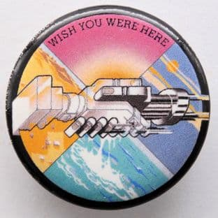 Pink Floyd - 'Wish You Were Here' 32mm Badge