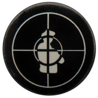 Public Enemy - 'Crosshairs Logo' Button Badge