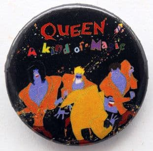 Queen - 'A Kind of Magic' 32mm Badge