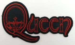 Queen - 'Crown Logo' Embroidered Patch