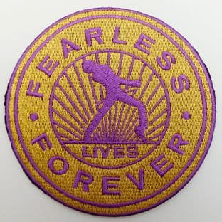 Queen - 'Fearless Forever' Embroidered Patch