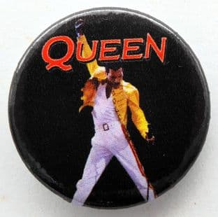 Queen - 'Freddie Pose' 32mm Badge