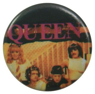 Queen - 'Group in Drag' Button Badge