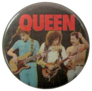 Queen - 'Group Stage Line-up' Button Badge