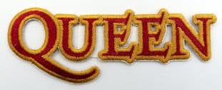 Queen - 'Logo' Embroidered Patch