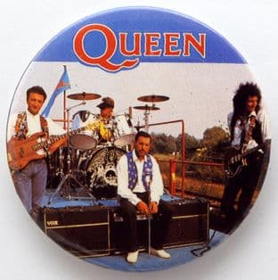 Queen - 'Stage' 56mm Badge