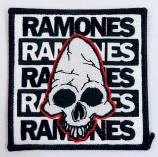 Ramones - 'Pinhead' Sew-on Embroidered Patch