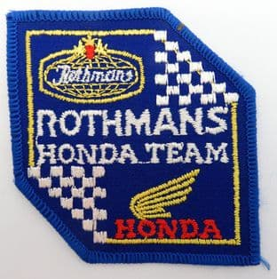 Rothmans Honda Team - Embroidered Patch