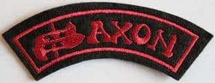Saxon - Embroidered Shoulder Patch