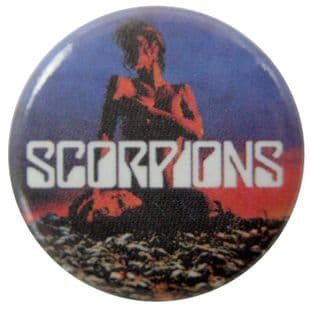 Scorpions - 'Deadly Sting' Button Badge