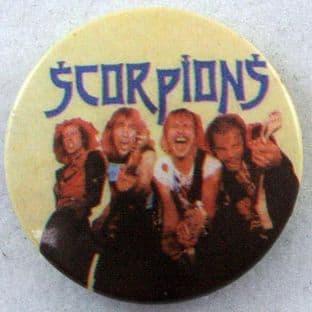 Scorpions - 'Group' Button Badge