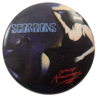 Scorpions - 'Savage Amusement' Button Badge