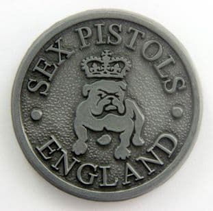Sex Pistols - 'England' Metal Badge
