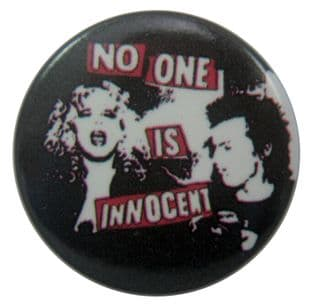 Sex Pistols - 'No One is Innocent' Button Badge