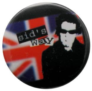 Sex Pistols - 'Sid's Way' Button Badge
