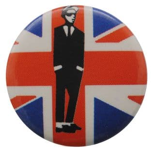 SKA - 'Walt Jabsco Union Jack' Button Badge
