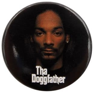 Snoop Dogg - 'The Doggfather' Large Button Badge