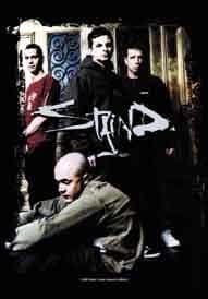 Staind - 'Group' Poster Flag