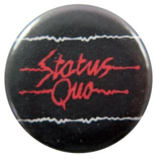 Status Quo - 'Electric Logo' Button Badge