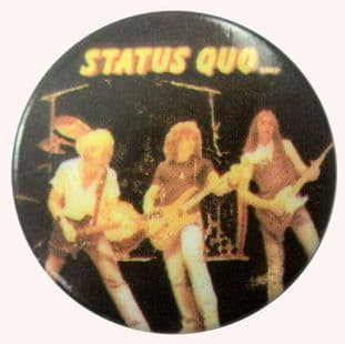 Status Quo - 'On Stage 2' Button Badge