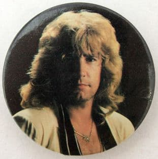 Status Quo - 'Rick Parfitt' Vintage Large Button Badge