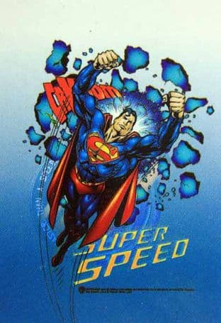 Superman - 'Super Speed' Poster Flag