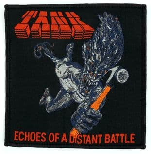 Tank - 'Echoes of a Distant Battle' Woven Patch