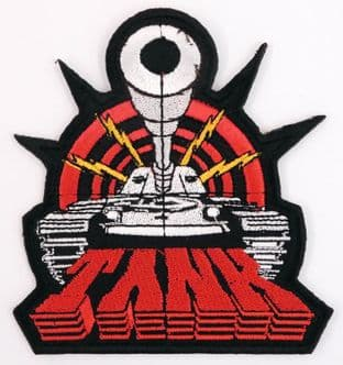 Tank - 'Logo' Embroidered Patch