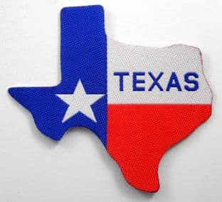 Texas - 'Flag' Shaped Patch