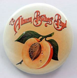 The Allman Brothers Band - 'Peach' Large Button Badge