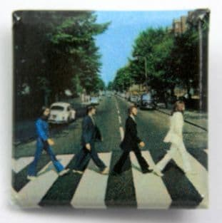 The Beatles - 'Abbey Road' Square Badge