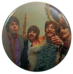 The Beatles - 'Group Candle' Button Badge