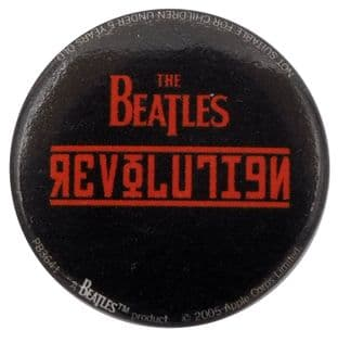 The Beatles - 'Revolution' Button Badge