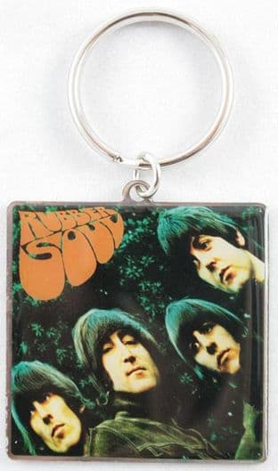 The Beatles - 'Rubber Soul' Keyring