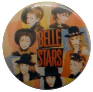 The Belle Stars - 'Group Heads' Button Badge