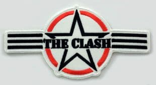 The Clash - 'AF Star' Embroidered Patch