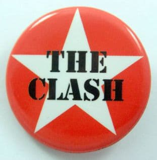 The Clash - 'Star Logo' 32mm Badge