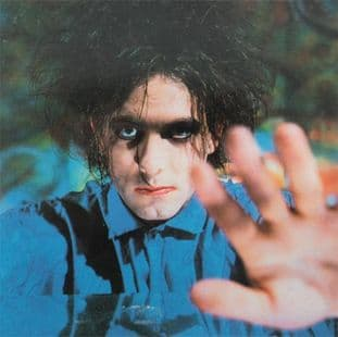 The Cure - 'Robert Smith' Square Sticker