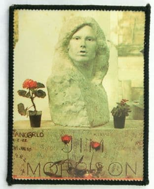 The Doors - 'Jim Morrison Bust' Photo Patch